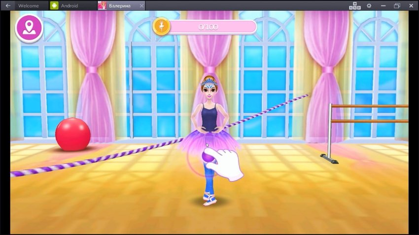 красавица балерина взломанная